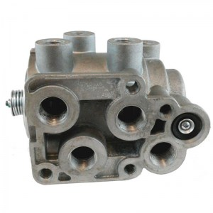 E-7 Pedal Foot Control Brake Valve - Dual or Split Air Brake Systems