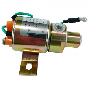 3-Way Solenoid Air Valve - 12V - Normally Closed