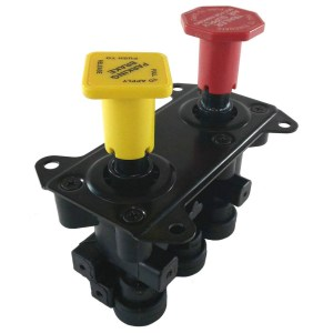 MV-3 Style Hand Operated Parking Manifold Dash Control Module Valve