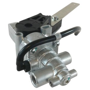Height Control Suspension Valve with Integral Dump Valve