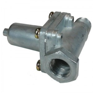 Wabco/Meritor 1200 Style Air Dryer with In-Line Check Valve and Pigtail
